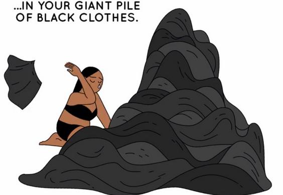 Goodbye Black Clothes: A Love Poem?